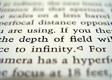 Definisi Depth Of Field