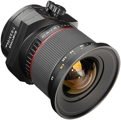Samyang T-S 24mm f:3.5 ED AS UMC Lensa Tilt Shift