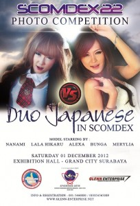 Duo Japanese in Scomdex Photo Competition