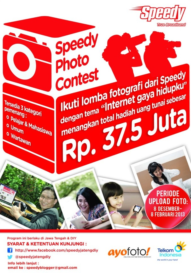 Speedy Photo Contest Internet Gaya Hidupku