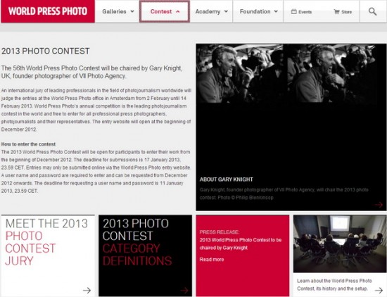 World Press Photo Contest 2013