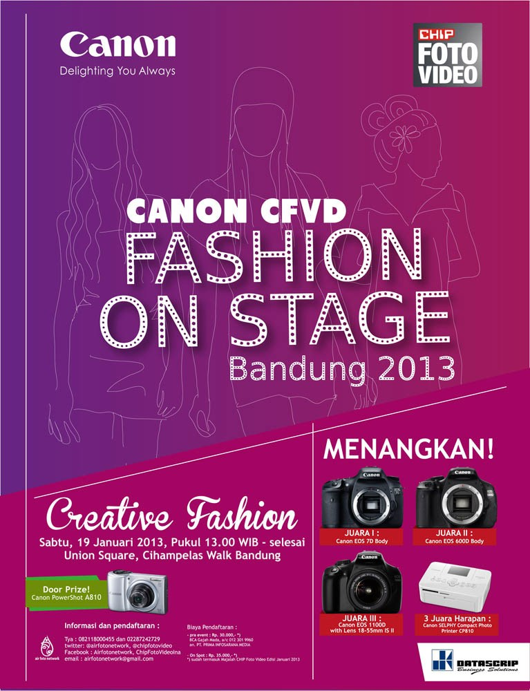 Fashion On Stage Photo Competition 2013