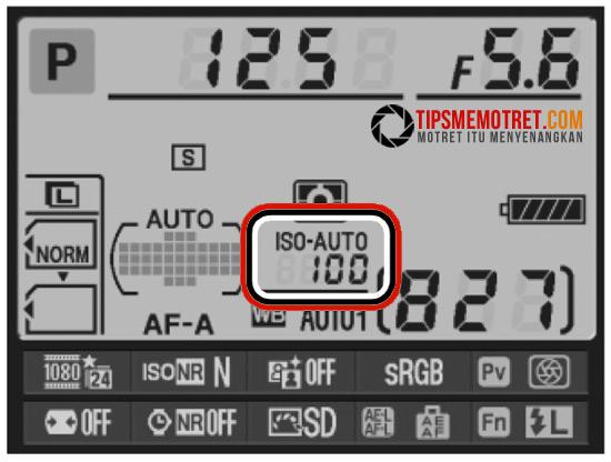 ISO Tips Memotret