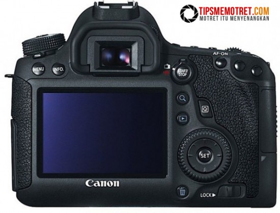 LCD Canon 6D