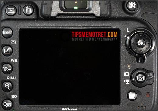 Layar Nikon D600