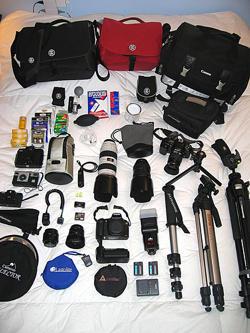 Aksesoris Penting Kamera DSLR
