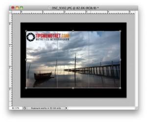 Cara Mudah Meluruskan Horizon Miring dengan Photoshop