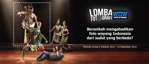 Lomba Fotografi World Of Wayang Indonesia