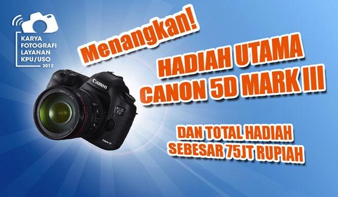 Lomba KaryaFotografi Layanan KPU/USO Kreatif