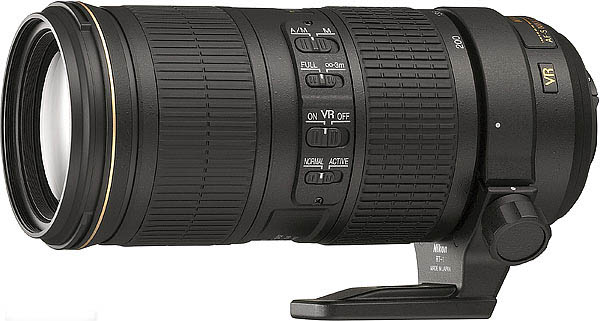 Lensa Tele Nikon Terbaru AFS 70-200mm f/4 ED VR