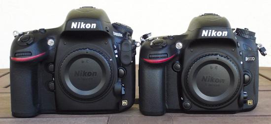 Nikon D600 vs Nikon D800E