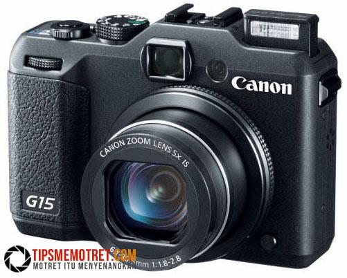 Spesifikasi Canon PowerShot G15