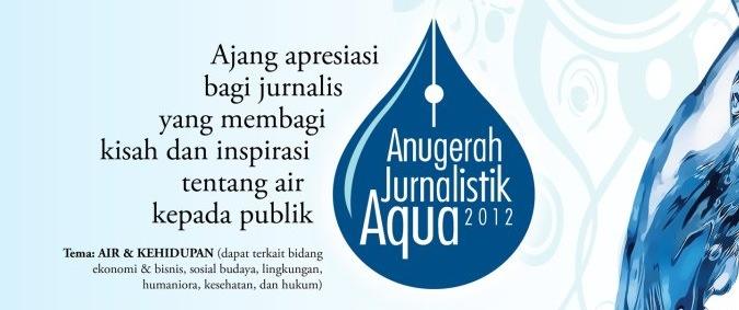 Anugerah Jurnalistik Aqua
