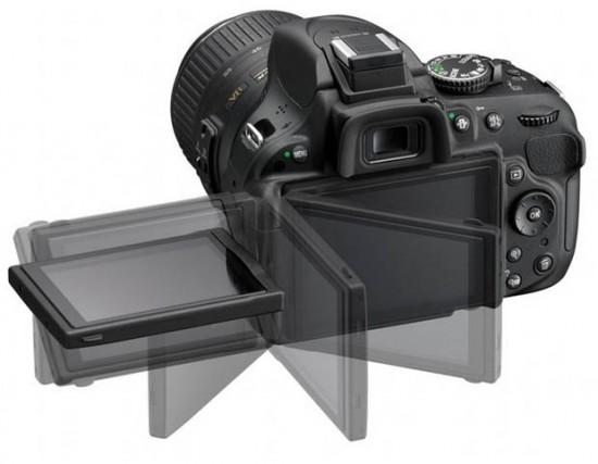 LCD Nikon D5200