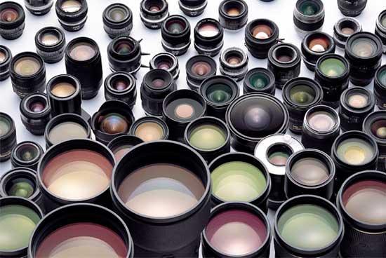 Macam-macam lensa Nikon