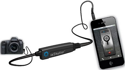 ioShutter Alat Kontrol Kamera DSLR dengan iPhone, iPad dan iPod