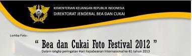 Bea dan Cukai Foto Festival 2012