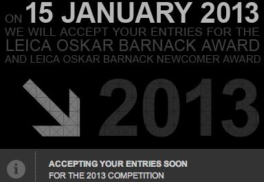 Leica Oskar Barnack Award 2013