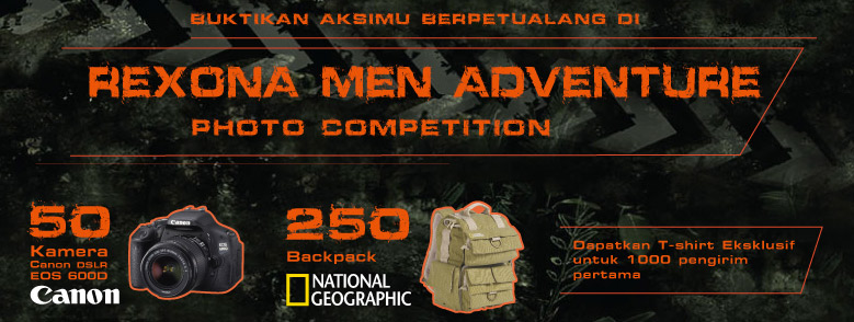 Rexona Men Adventure Photo Competition