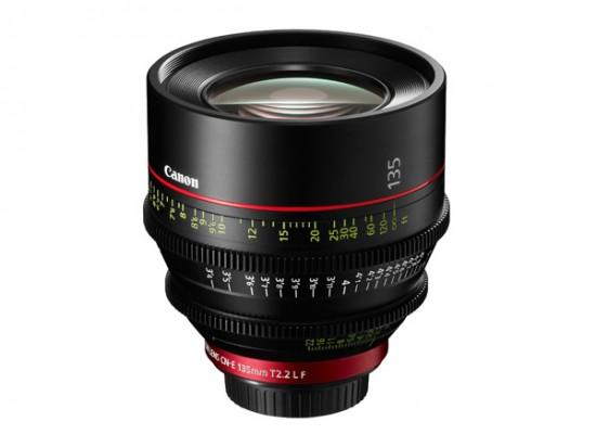 Cinema EOS prime lenses CN-E135mm T2.2 L F