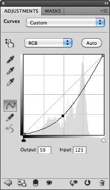 Curve Membuat Efek Vignette di Photoshop