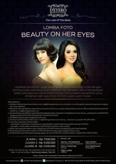 Lomba Foto DEYEKO Beauty In Her Eyes