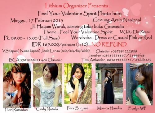 Hunting Foto Feel Your Valentine Spirit di Gedung Arsip Nasional Hayam Wuruk