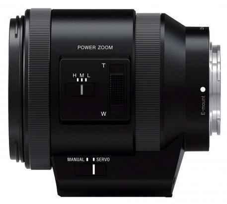 Sony PZ 18-200mm f:3.5-6.3 OSS lens