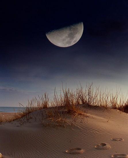 Edit Foto Bulan dengan Photoshop