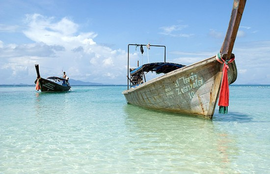 Foto Objek Menarik Di Pantai