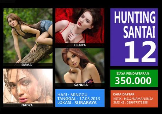 Hunting Santai 12 Surabaya