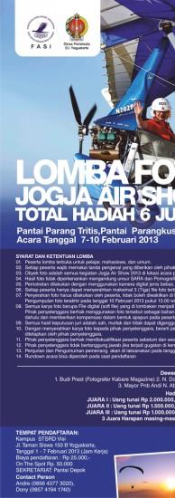 Lomba Foto Jogja Air Show 2013