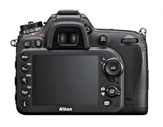 Layar LCD Nikon D7100