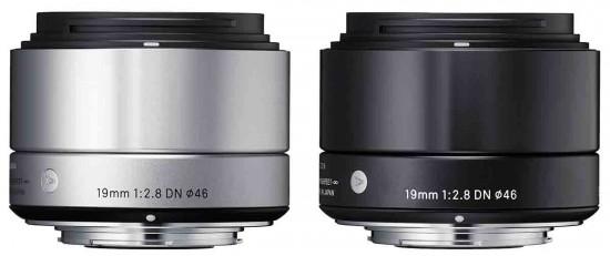 Lensa Sigma 19mm f:2.8 NEX Dan MFT