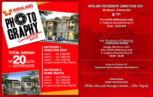 Wiraland Photography Competition 2013