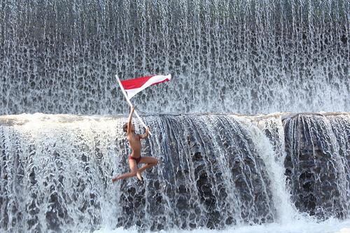 Hunting Foto di Air Terjun Tukad Unda Bali