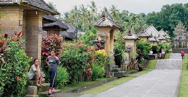 Lokasi Hunting Foto Desa Panglipuran Bali