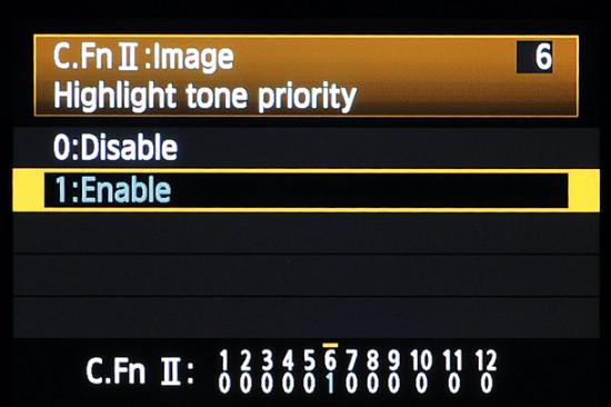 Cara Menggunakan Highlight Tone Priority
