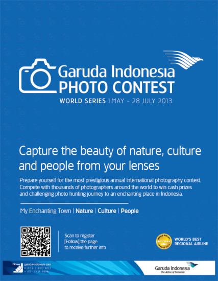 Garuda Indonesia World Photo Contest