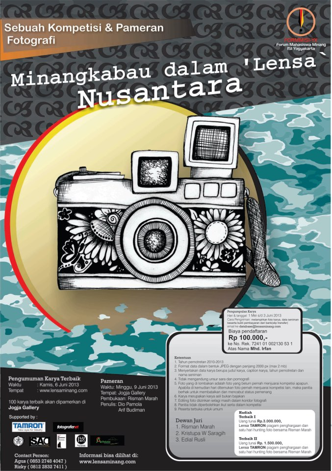 Kontes Fotografi Minangkabau dalam Lensa Nusantara