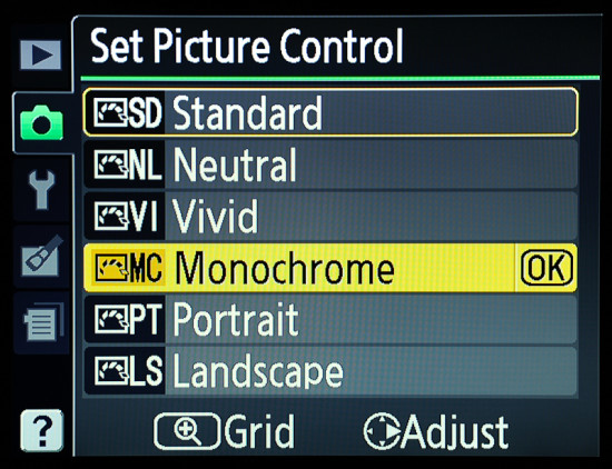 Cara Load Picture Control dan Picture Style