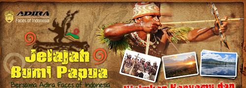 Kontes Foto Jelajah Bumi Papua Oleh Adira