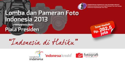 Lomba Foto Indonesia 2013
