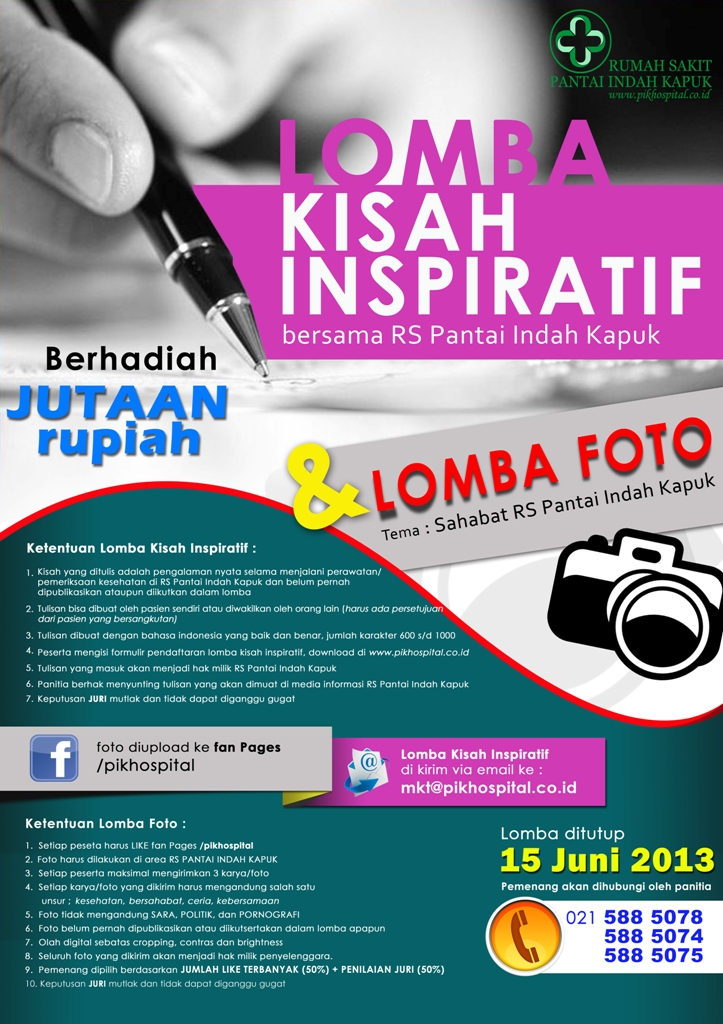 Lomba Foto RS Pantai Indah Kapuk