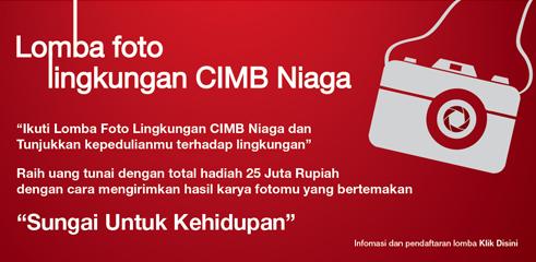 Lomba Fotografi Lingkungan CIMB Niaga