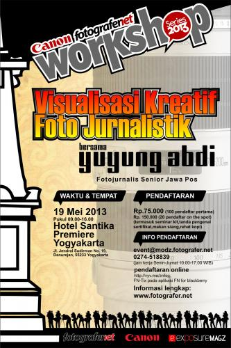 Workshop Fotografi Yogya