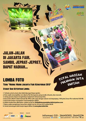 Lomba Foto Jakarta Fair Kemayoran 2013