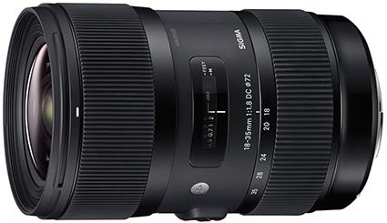 Sigma 18-35mm f:1.8