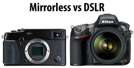 Perbedaan Mirrorless dengan DSLR