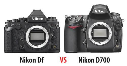 Perbedaan Nikon Df vs Nikon D700